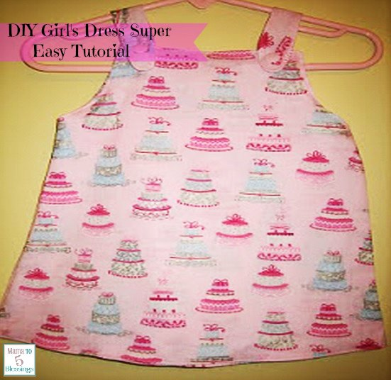 DIY girls dress main