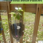 SODA BOTTLE HANGING PLANTERS KIDS CRAFT