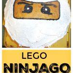 DIY LEGO NINJAGO CAKE