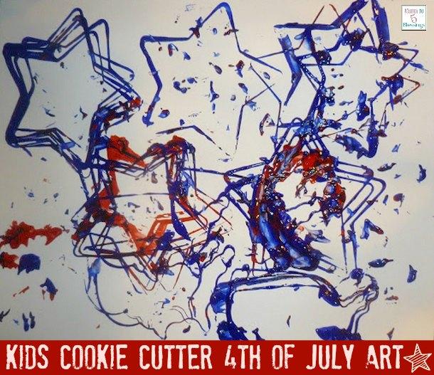 toddler 4th of July art u