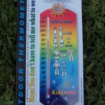Mercury Free Outdoor Thermometer Teaches How To Dress (Review + Giveaway)