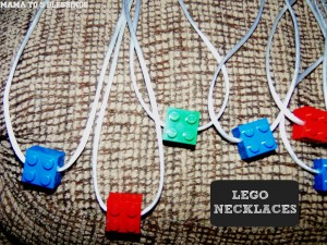 LEGO NECKLACE BUTTON