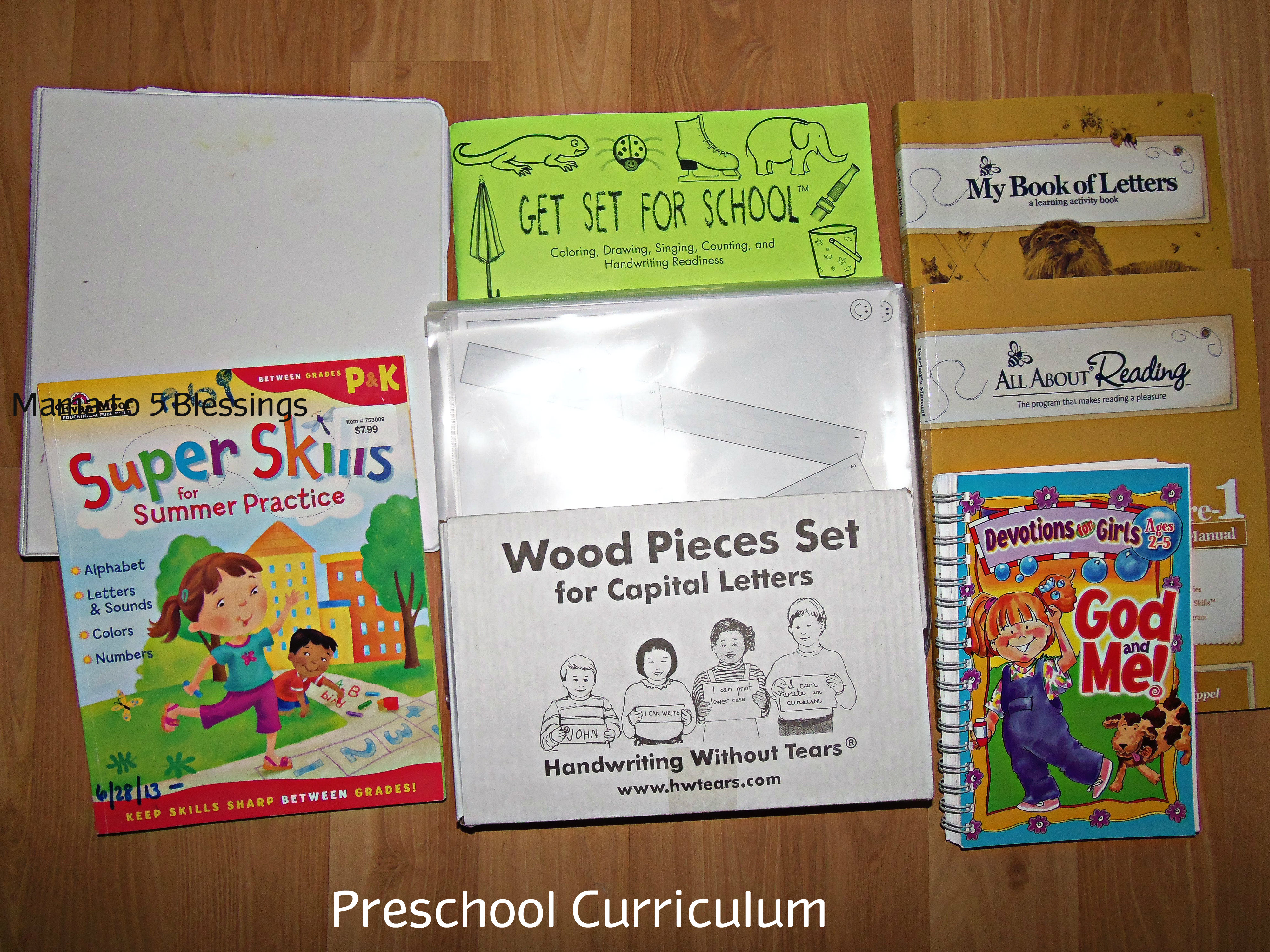 preschool curriclum