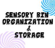 sensory bin button