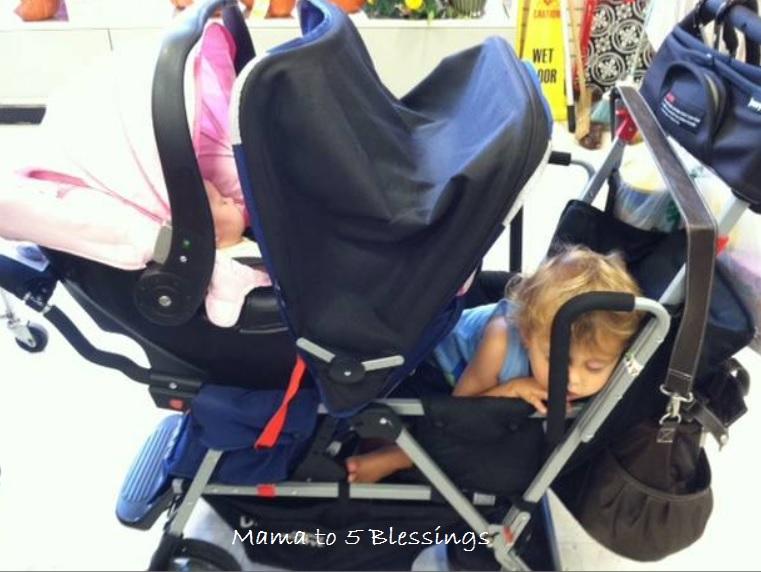 stroller sleep