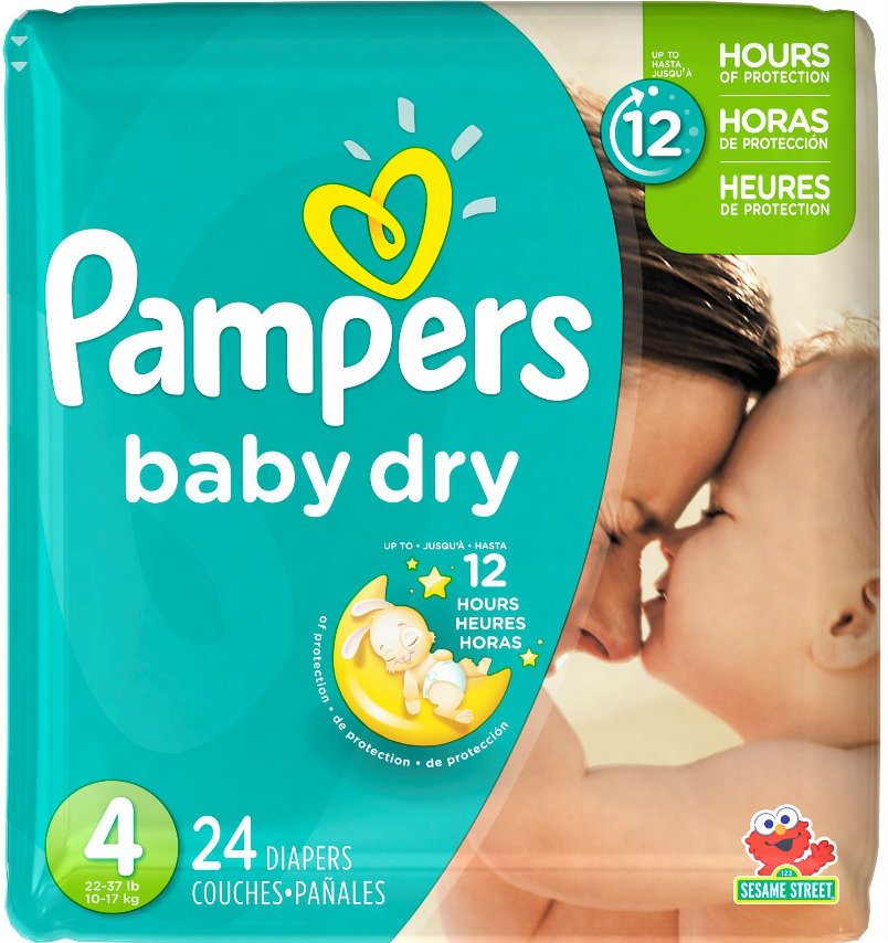 pampers size 4A