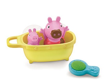 peppa pig bathtime