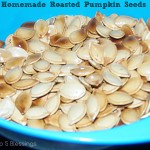 Homemade Roasted Pumpkin Seed Recipe