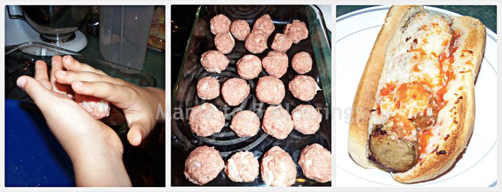 turkey meatball Collage 1