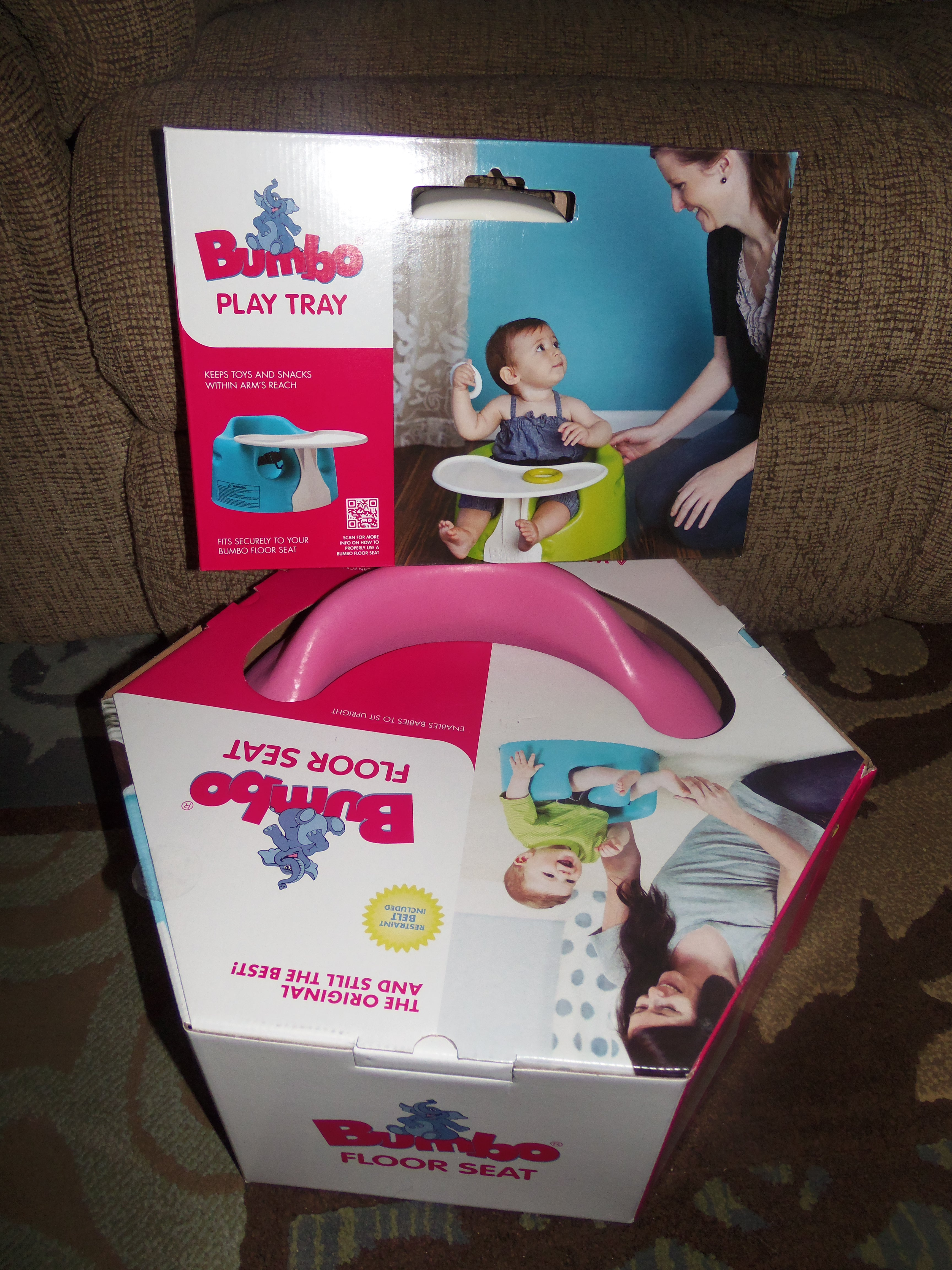 Bumbo Floor Seat With Play Tray Review Giveaway Mama to 6