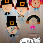 Paper Plate Pilgrim Craft (Learn & Link With Linky)