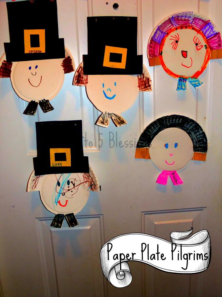 Paper Plate Pilgrims main
