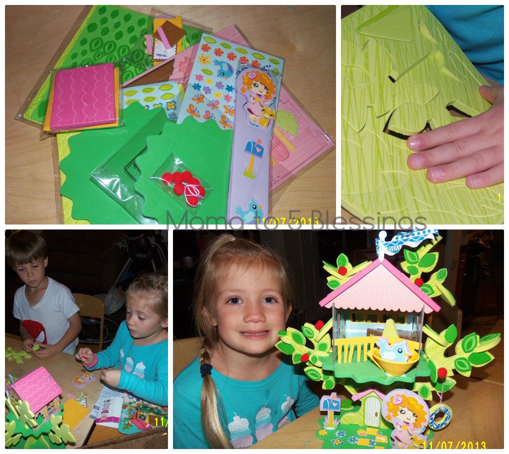 Pom Tree House Collage