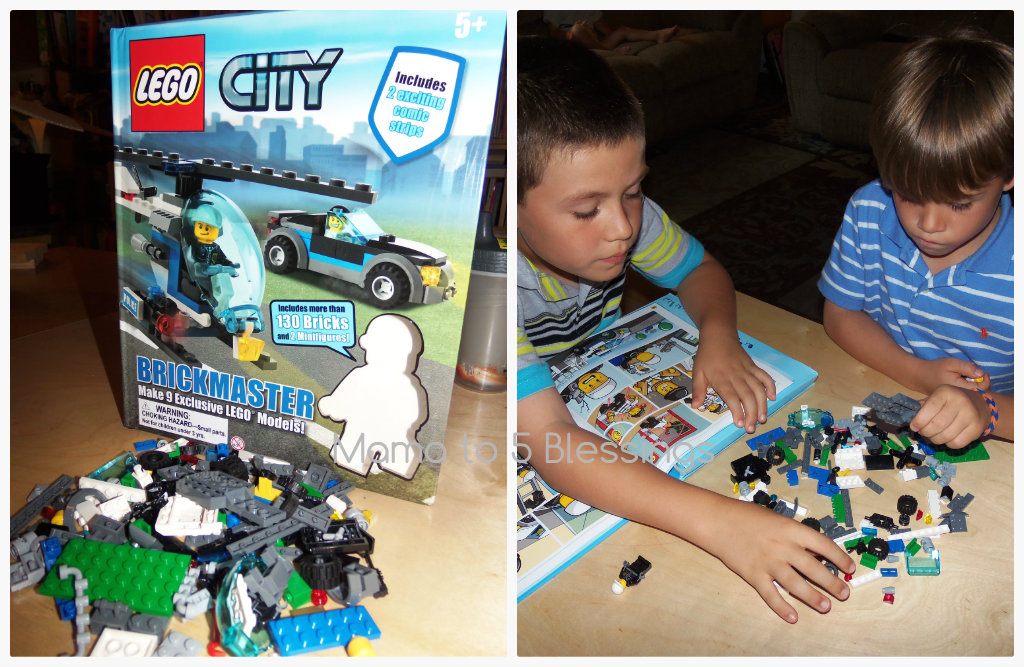 lego city boys Collage