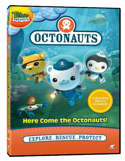 here come the octonauts