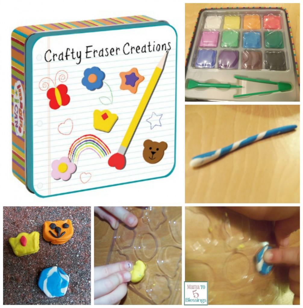 crafty eraser creations collage