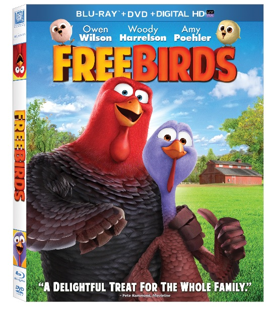 free birds movie box