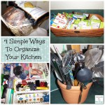 4 Simple Ways To Organize Your Kitchen