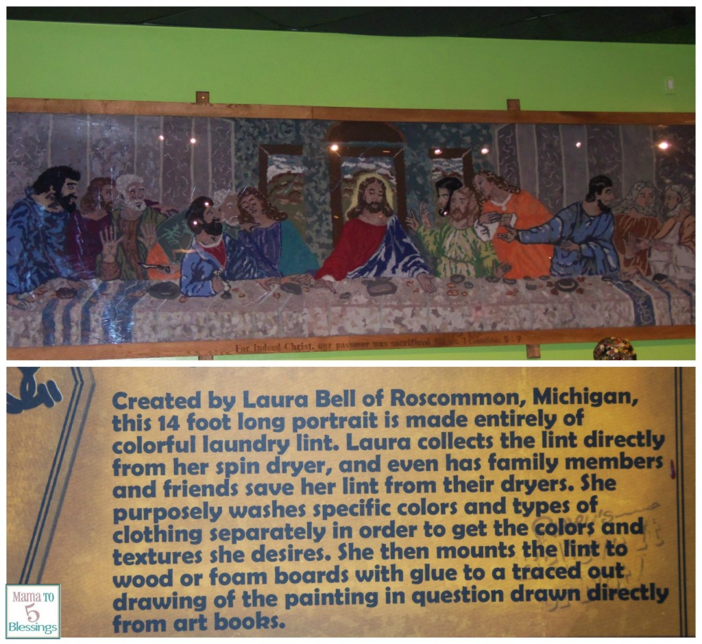 ripleys last supper collage