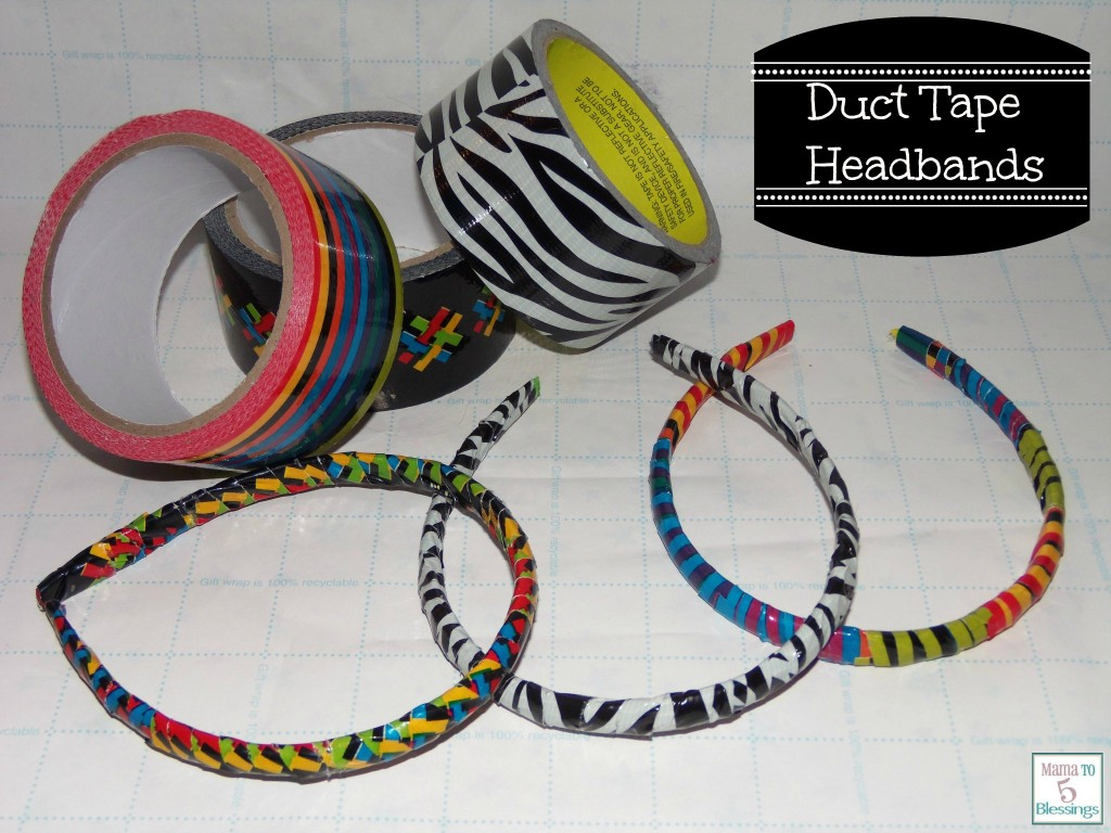duct tape headbands main