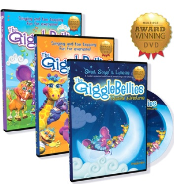 gigglebellies 3 pack