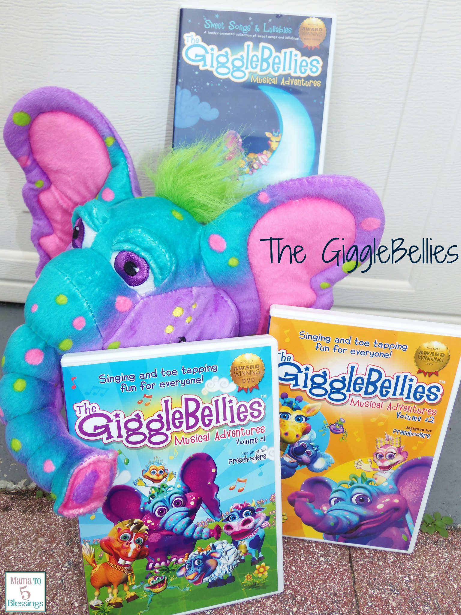 Learn Play With The Gigglebellies Review Giveaway Mama To 6 Blessings