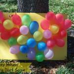DIY Mickey Mouse Balloon Dart Board Game #DisneySide