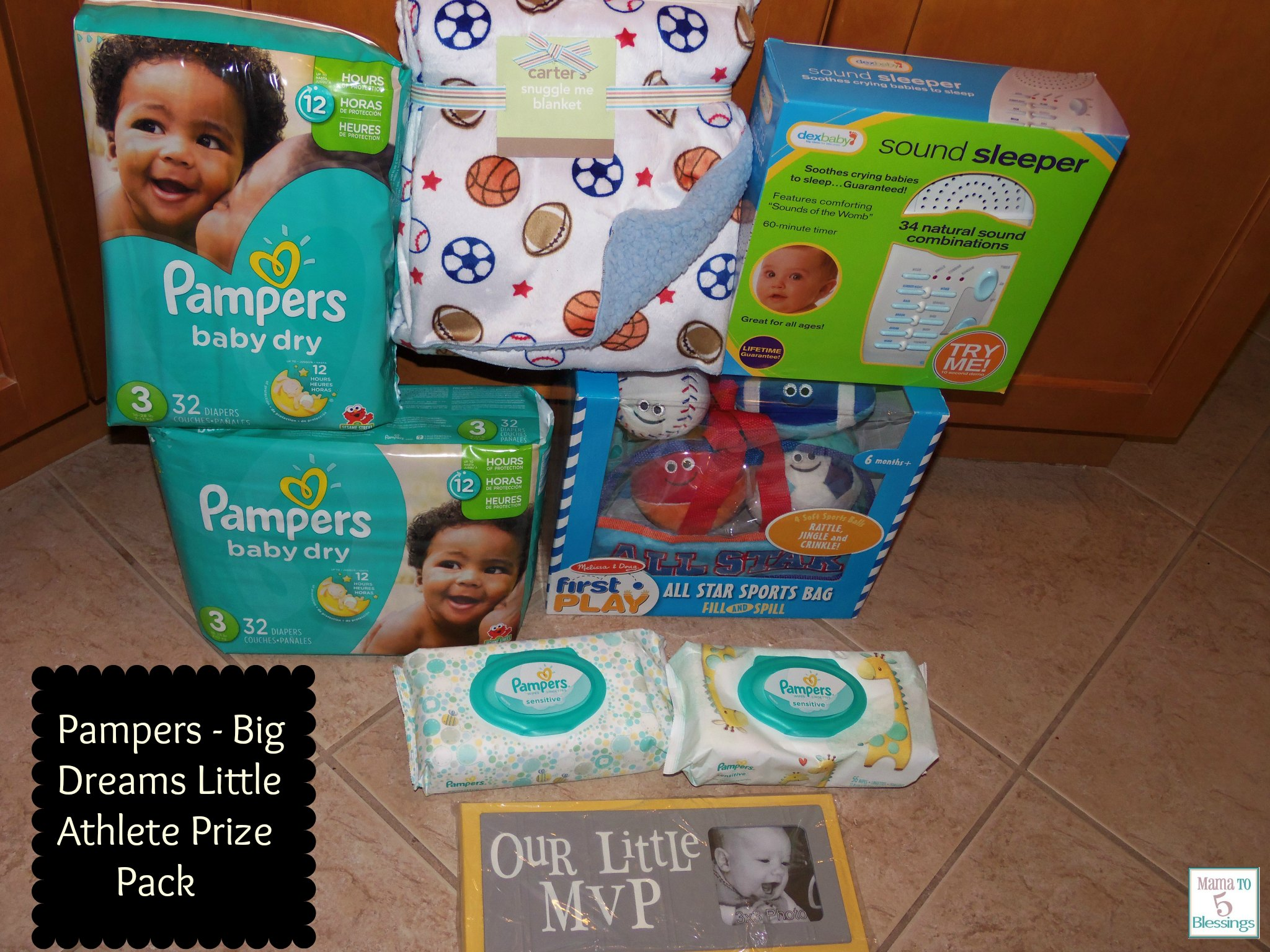 pampers little athlete pack