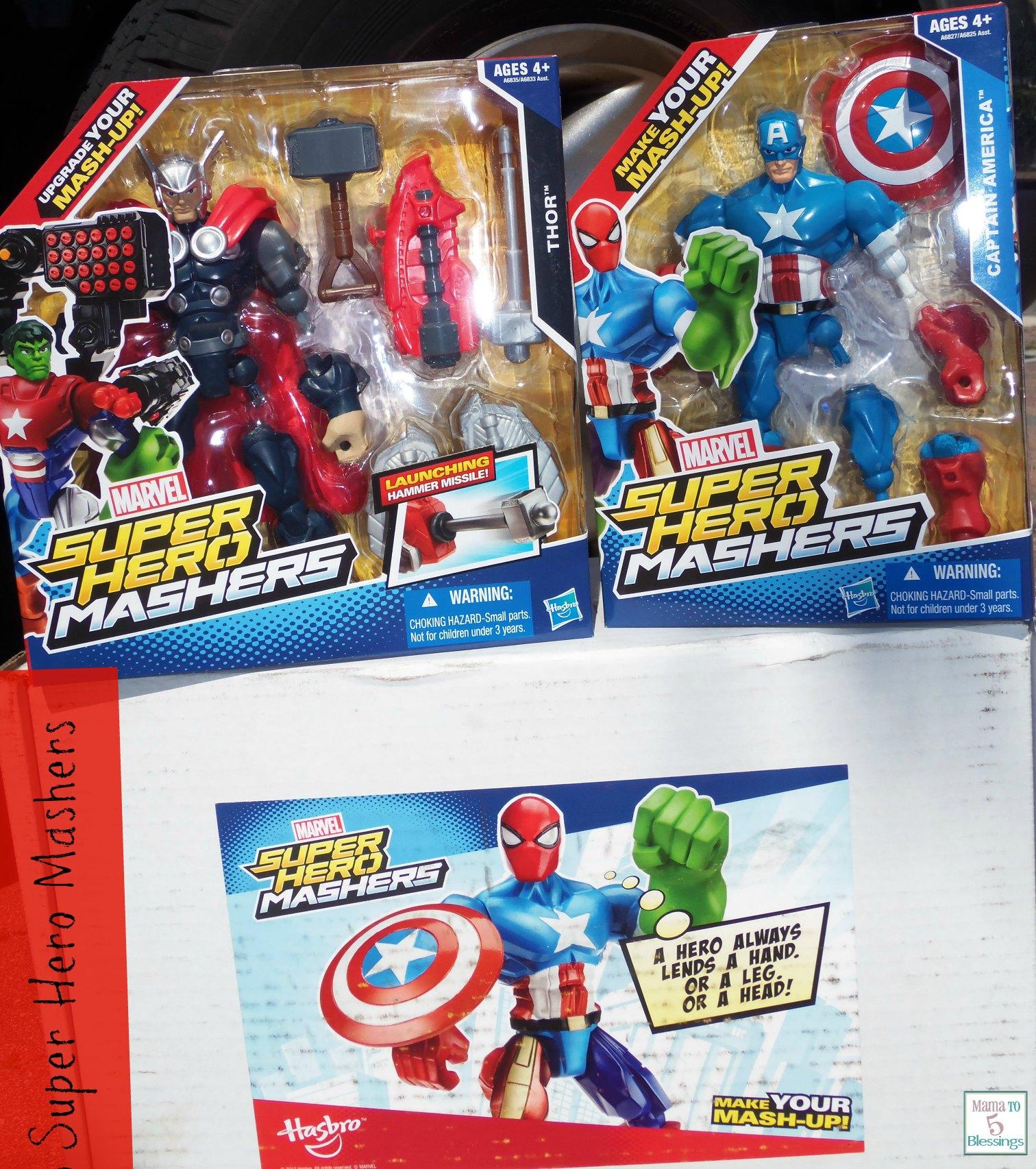 super hero mashers 1
