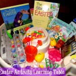 Kid's Easter Activity Learning Table (Learn & Link With Linky)