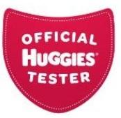 huggies tester badge