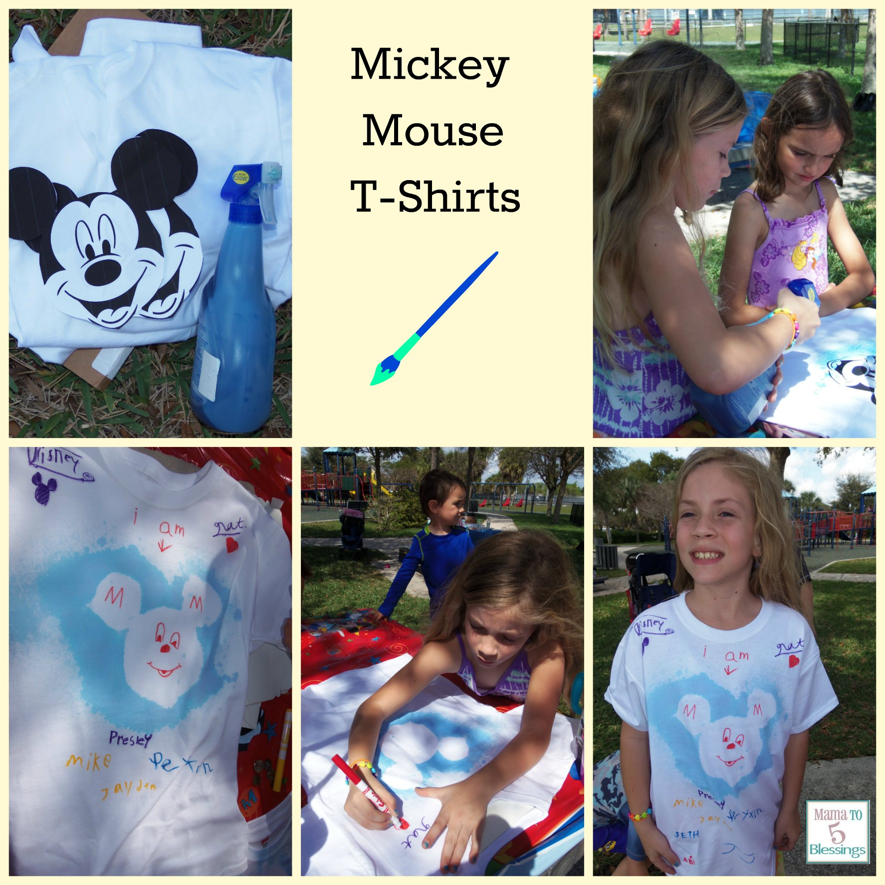 mickeymouse party shirts