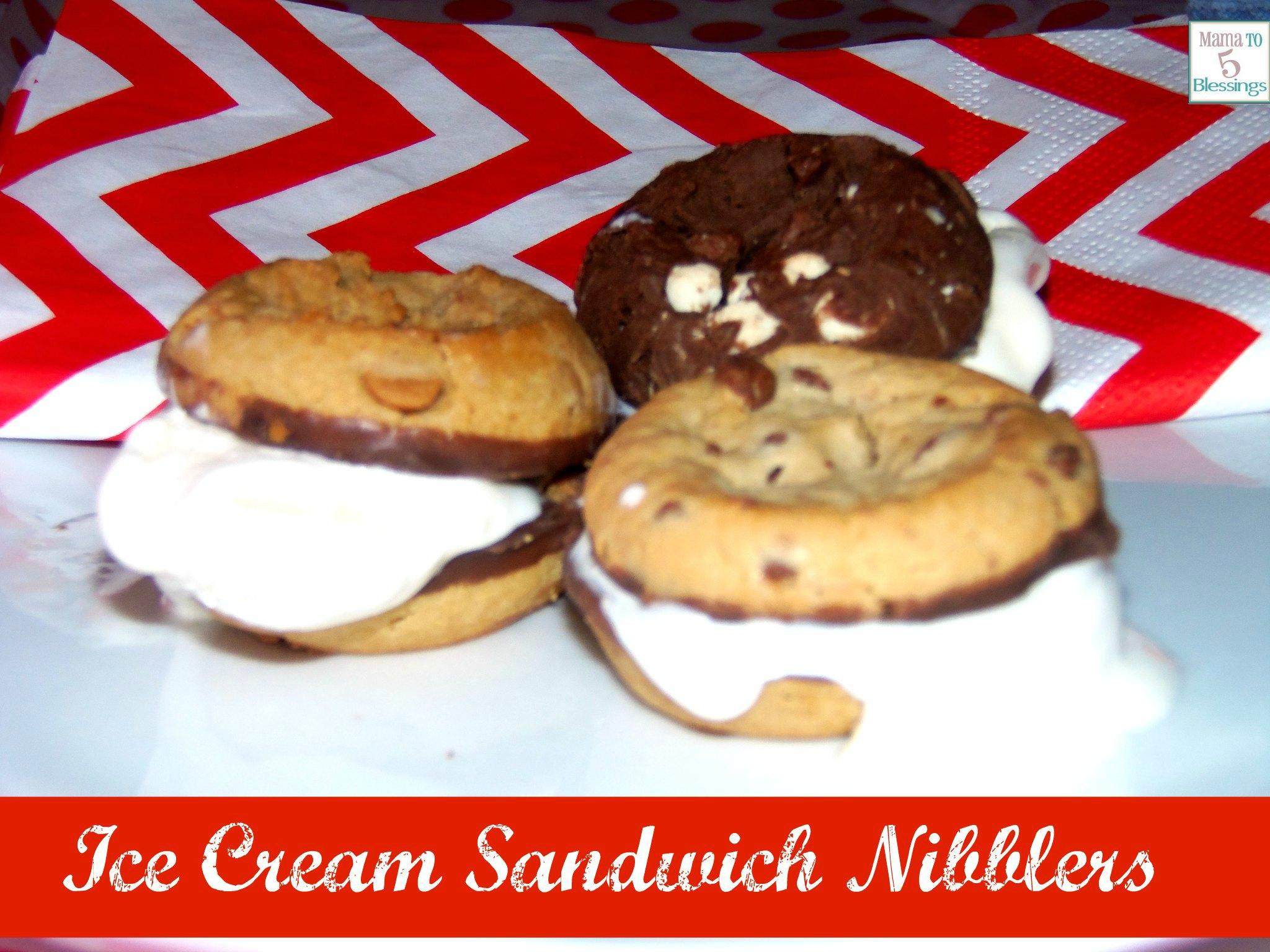 Mrs. Fields Ice Cream Nibblers