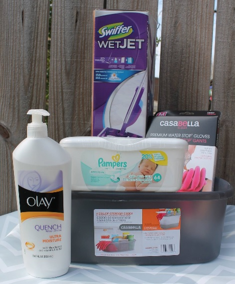 Pampers cleaning caddy giveaway
