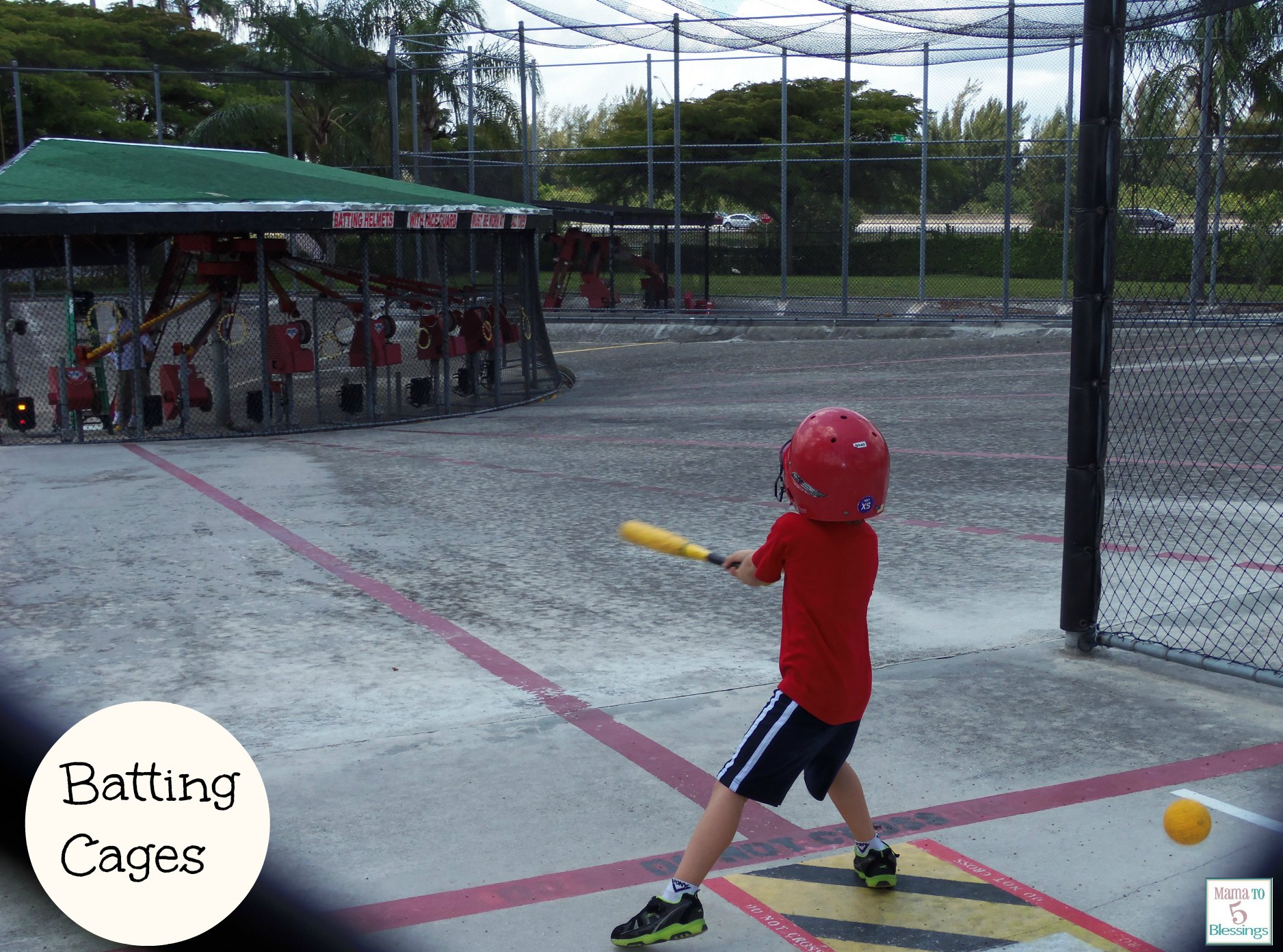 boomers batting cages
