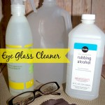 DIY Eye Glasses Cleaner