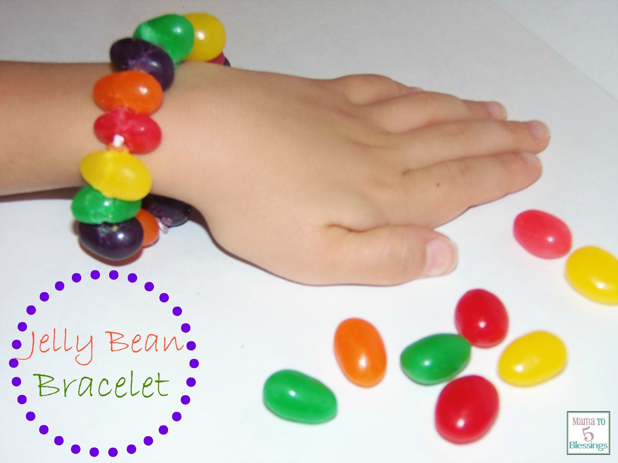 jelly bean bracelet