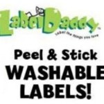 Label Daddy Peel & Stick Washable Labels