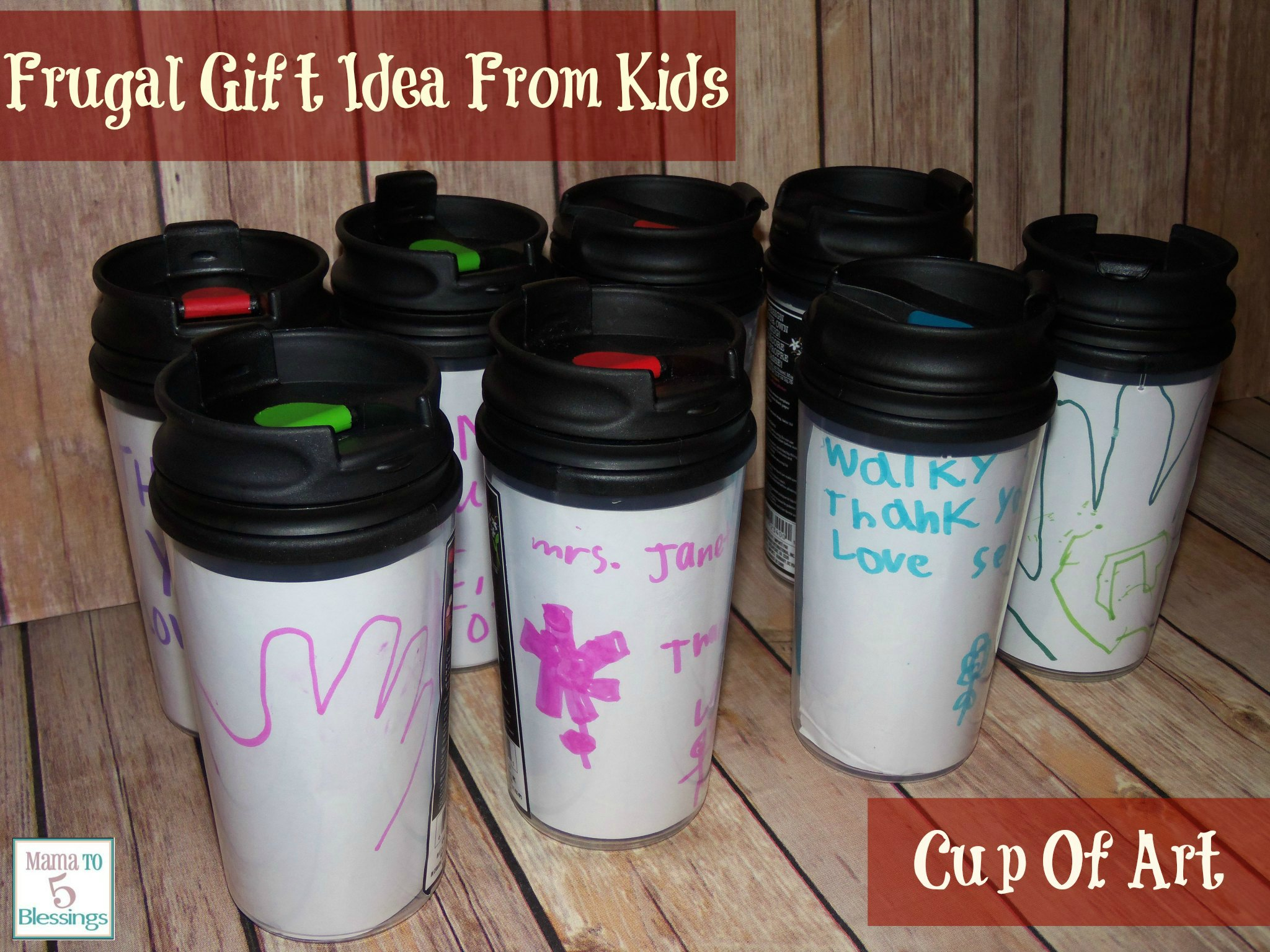 Frugal gift idea