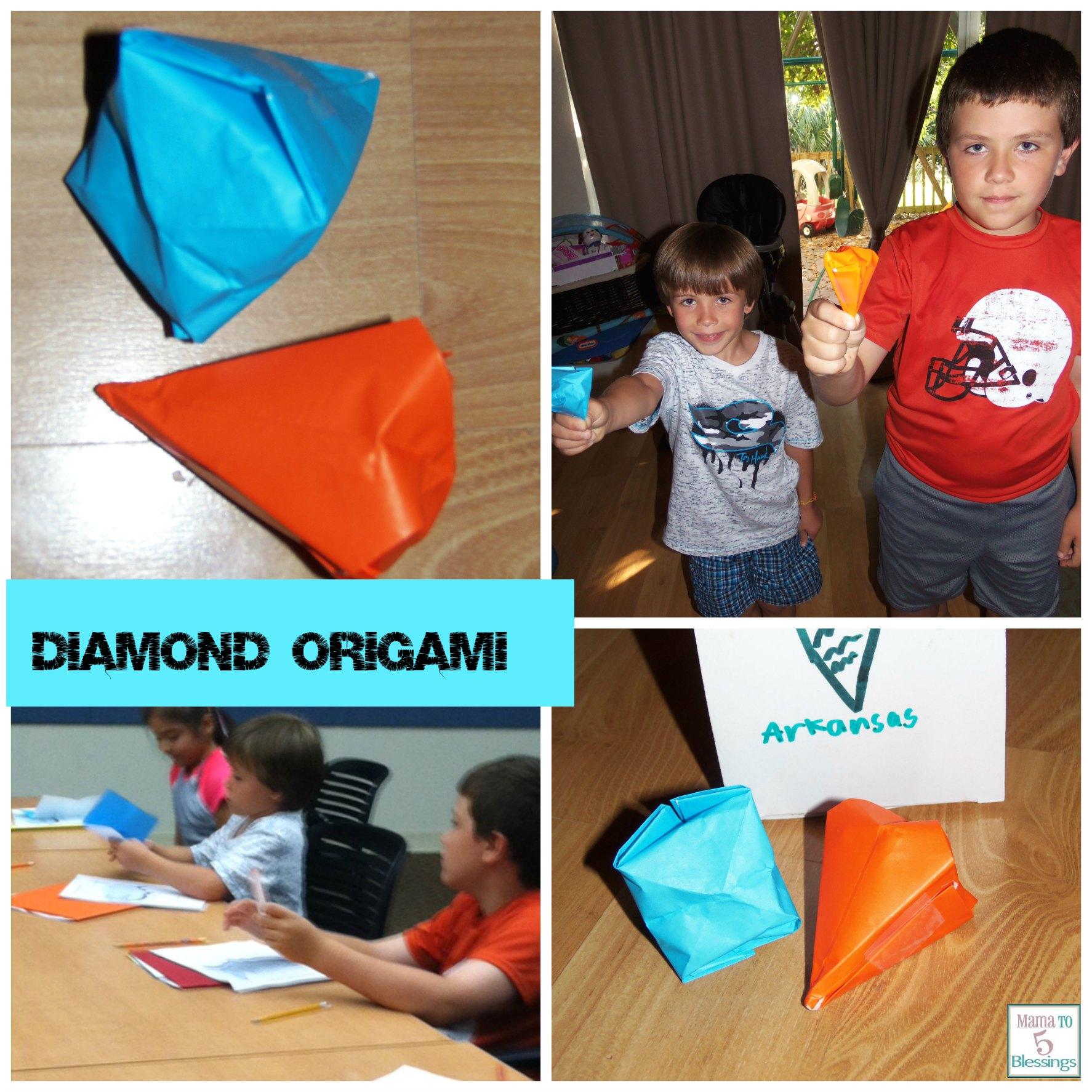 diamond origami