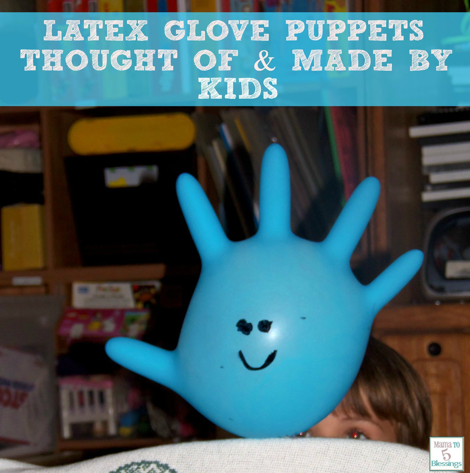 latex glove puppets