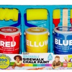 Create With Washable Sidewalk Chalk Paint + Giveaway