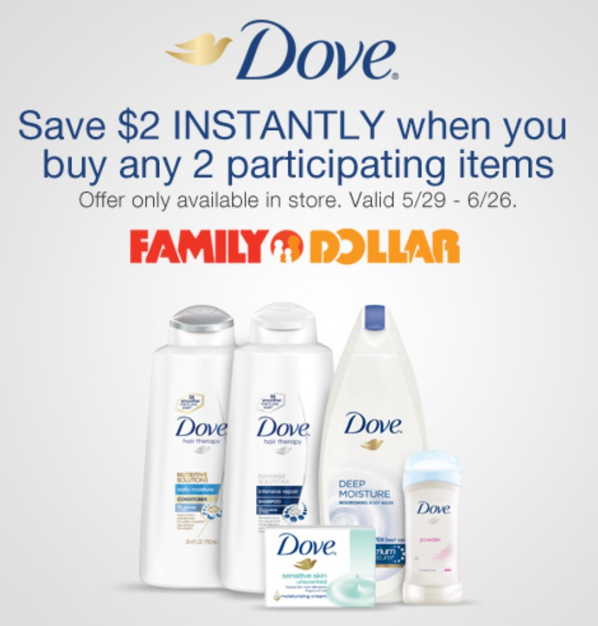DOVE FAMILY DOLLAR A