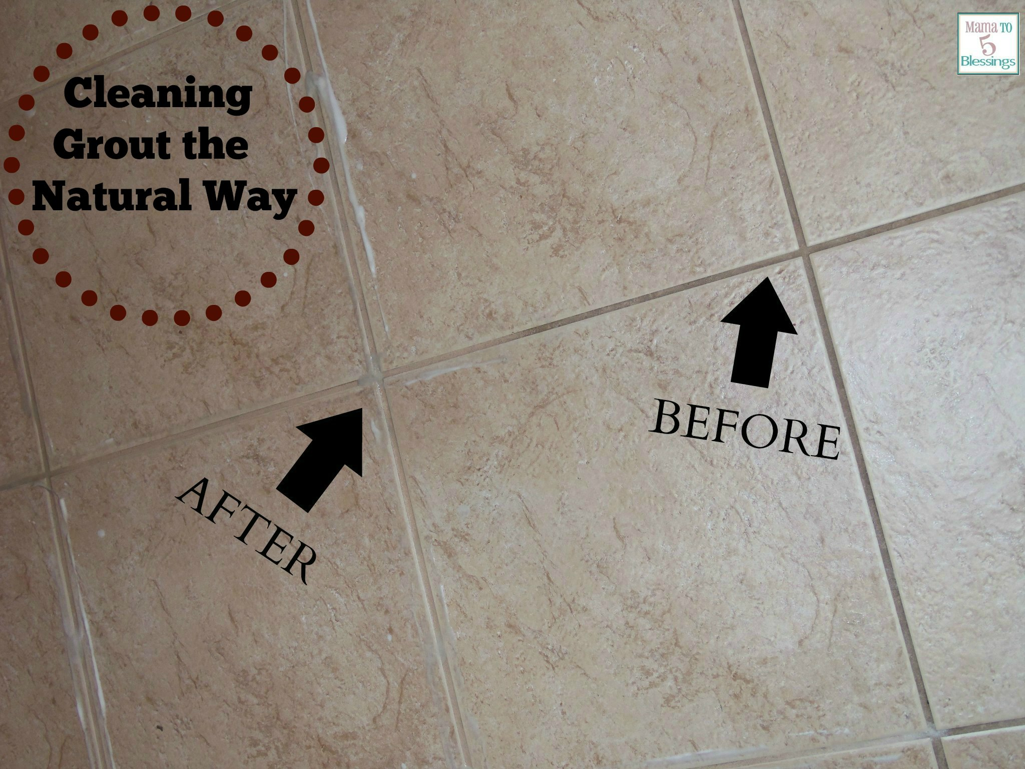 Grout tile cleaner