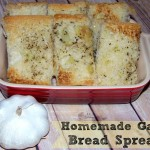 Homemade Garlic Bread Spread