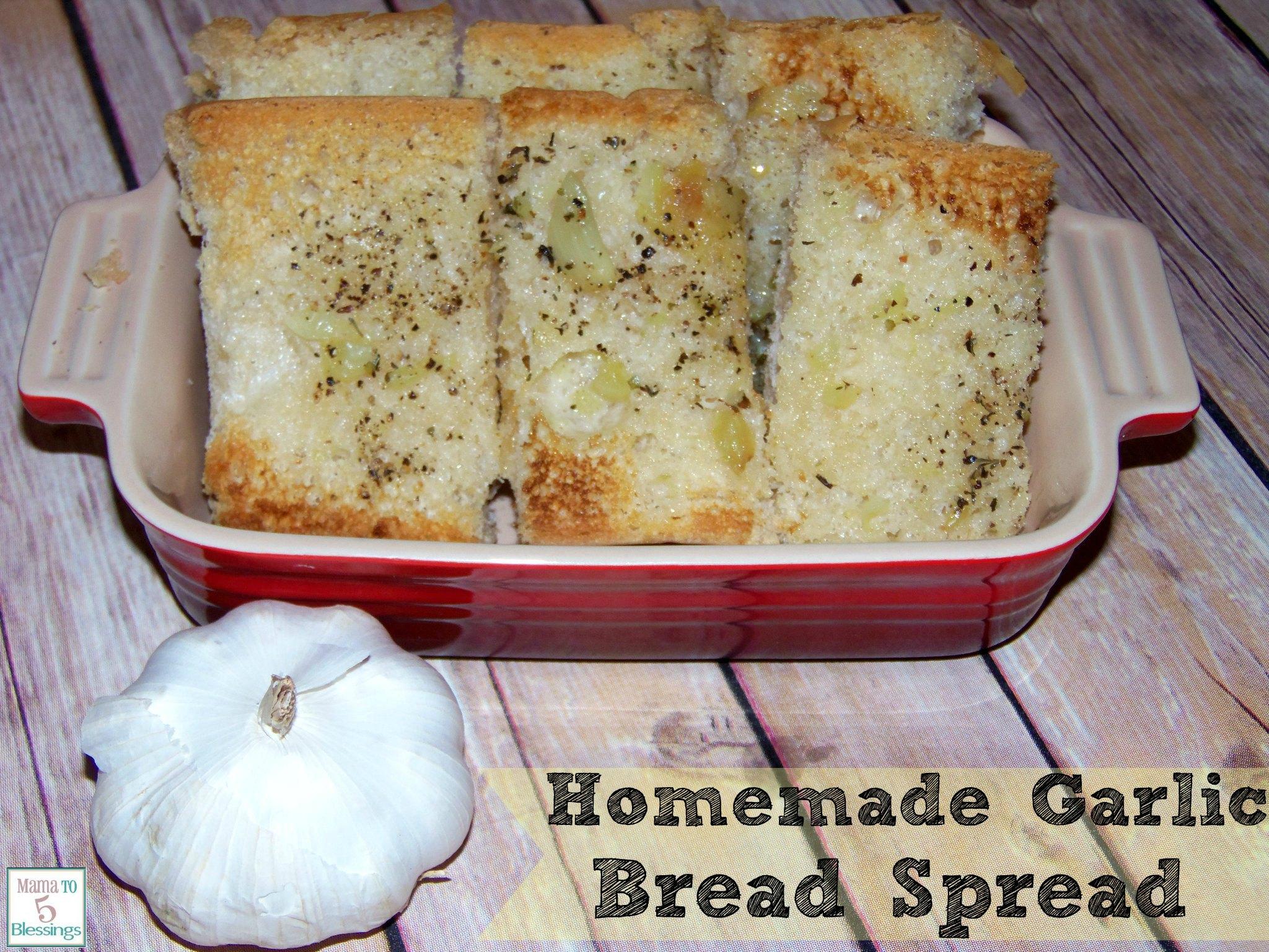 garlic bread spread u