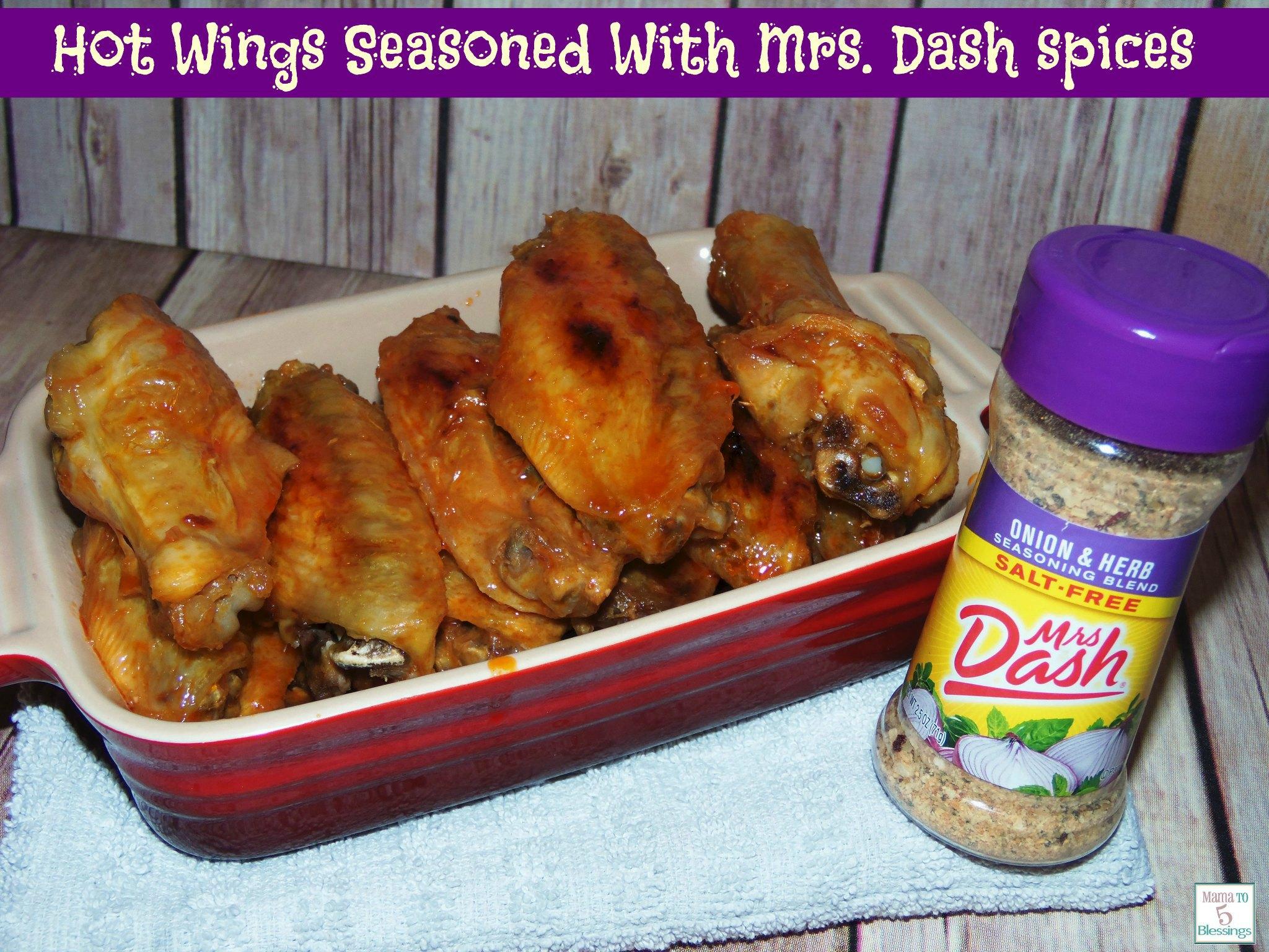hot wings w. dash