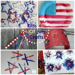 4th of July Kids Crafts Round Up