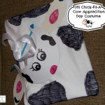 DIY Chick-Fil-A Cow Appreciation Day Costume #CowAppreciationDay