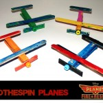 Clothespin Planes (Learn & Link With Linky)